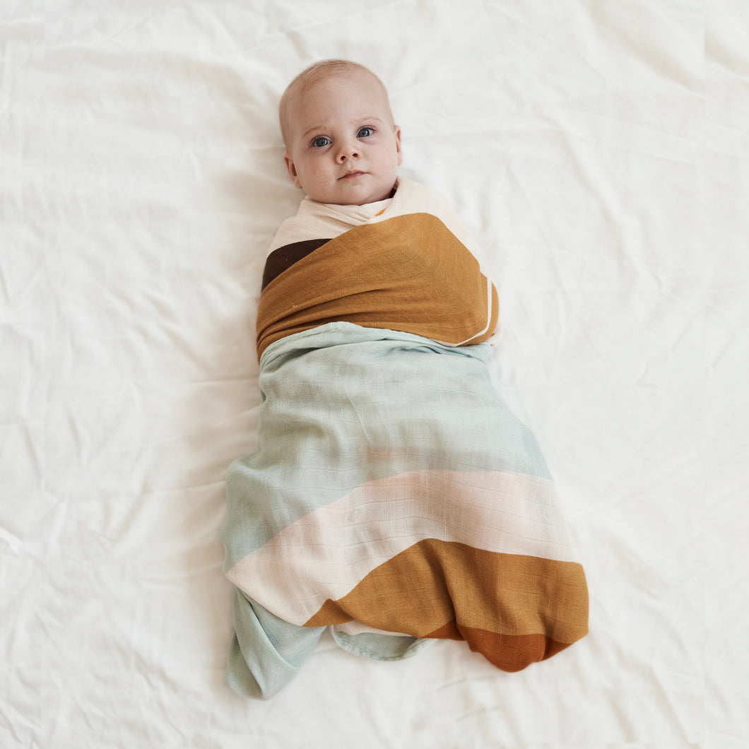 Sunshine State Bamboo/Organic Cotton Swaddle