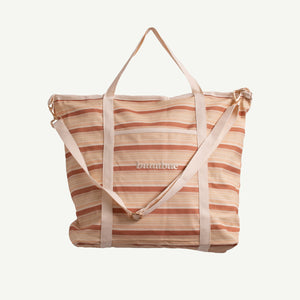 SAMPLE Retro Stripe Carry All Bag