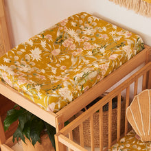 Banksia Bloom Fitted Bassinet Sheet / Changing Pad Cover