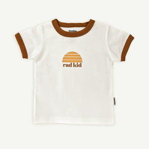 Rad Kid Retro Ringer Tee