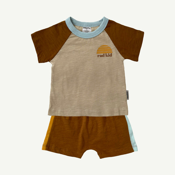 Rad Kid Twinset in Organic Cotton