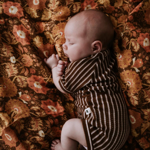 Arabella Paisley Bamboo / Organic Cotton Swaddle