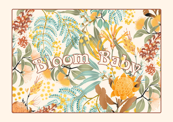 Bloom Baby Digital Art Download