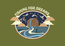 Fishing for Dreams A3 Digital Art Download