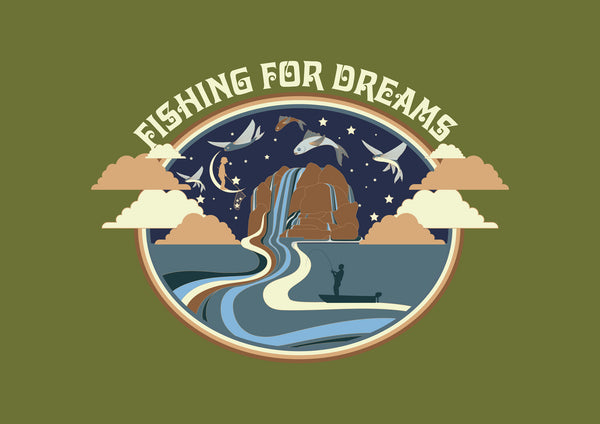Fishing for Dreams Digital Art Download