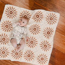 Daisy Chain Cotton Crochet Blankie