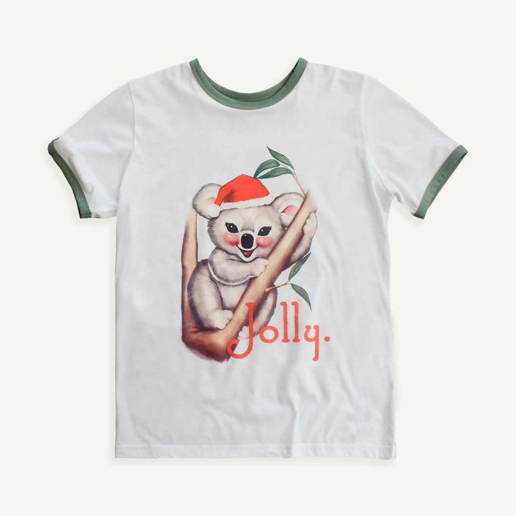 Womens Jolly Christmas Tee
