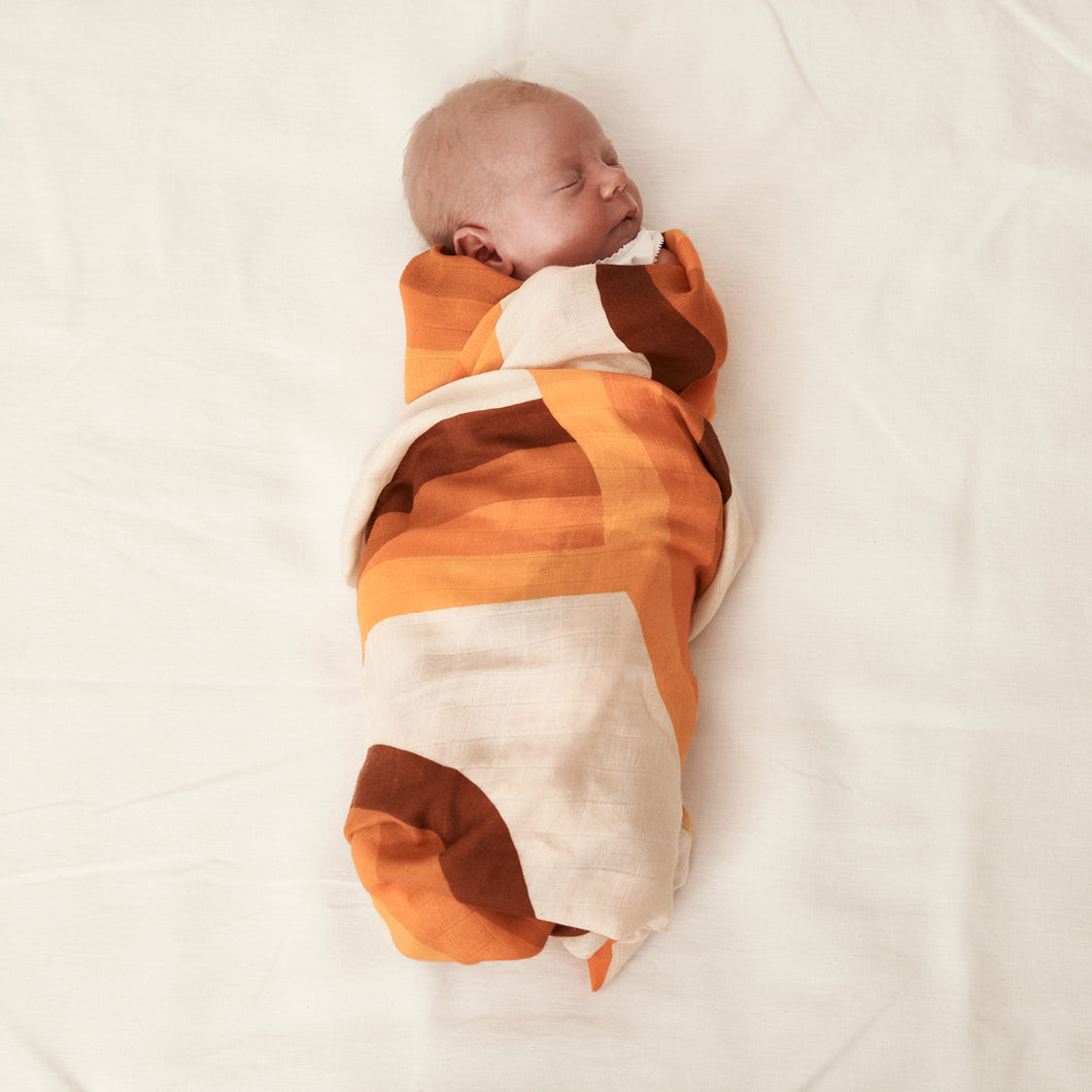 Flow State Bamboo / Organic Cotton Swaddle