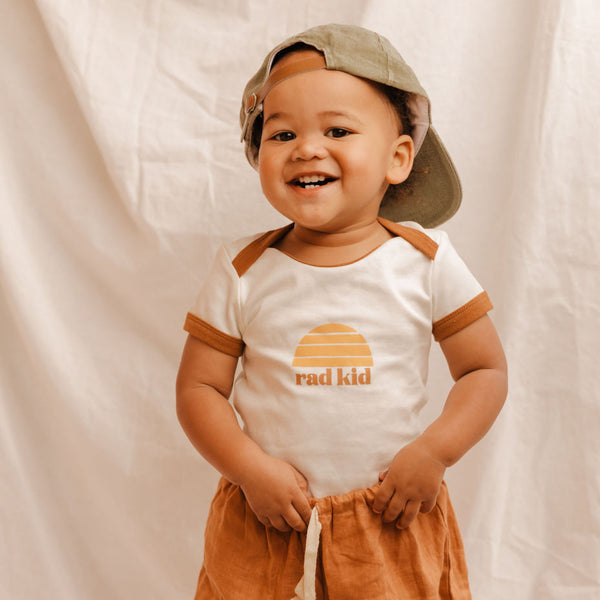 Rad Kid Organic Cotton Onesie