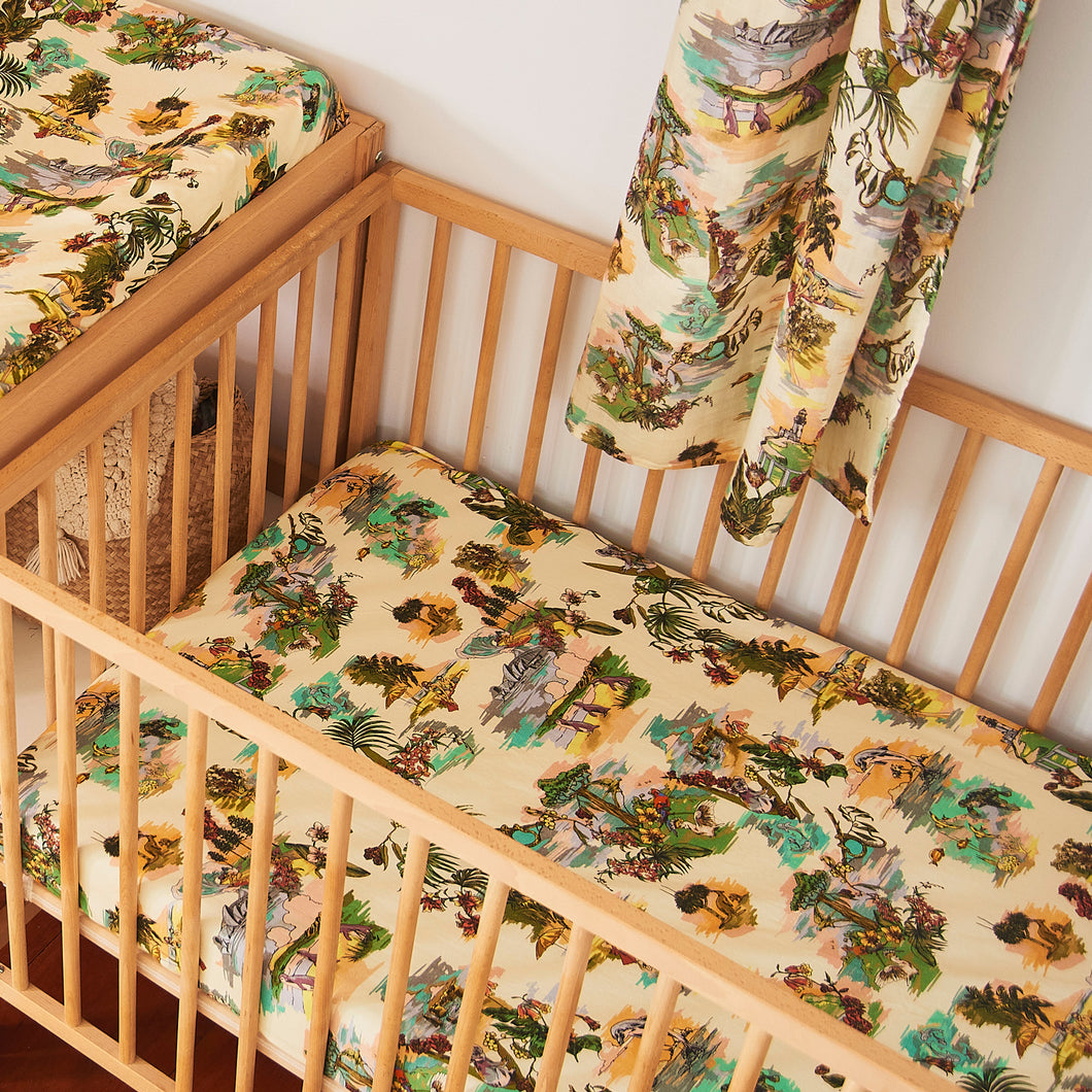 Share a Dream Hemp/Organic Cotton Fitted Cot Sheet
