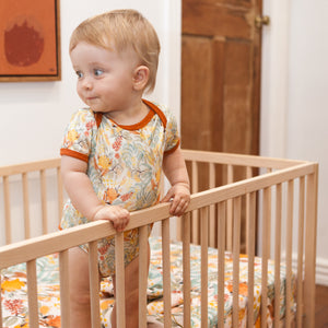 Wattle Wander Organic Cotton Onesie