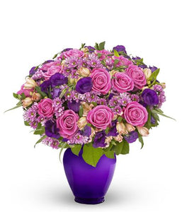 BEST COLOR ROSES WITH COMPLEMENTS