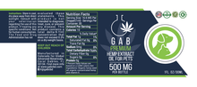 Load image into Gallery viewer, GAB Premium Pet Hemp Extract Oil - 500MG - 1 Ounce
