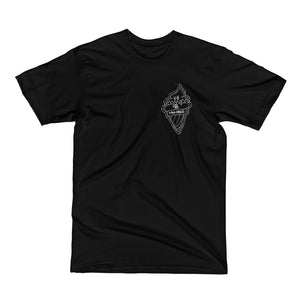ICE CREAM T-SHIRT [BLACK]