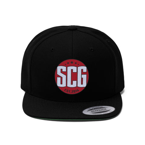SCG Logo Flat Bill Hat
