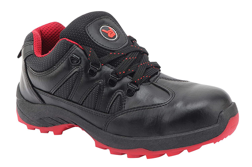 Hillson SWAG Safety Shoes 1903 (Black & Red)