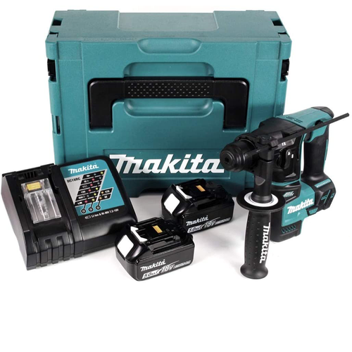 Makita DHR 171RTJ 18V Cordless Hammer Drill with 2 Battteries and Charger