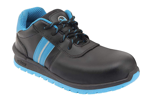 Hillson Swag Safety Shoes 1901 (Blue & Black)