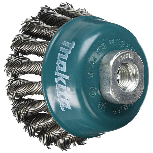 Makita D-24131 cup wire brush for rust and paint removal (5 Inch)