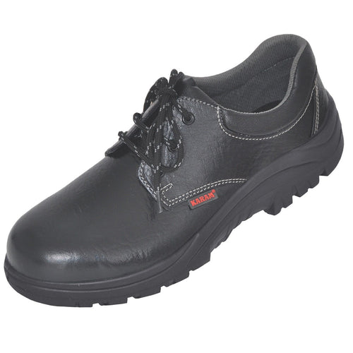 Karam Safety Shoes Black