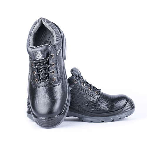 Hillson Nucleus full Leather Double Density Steel Toe Safety Shoes