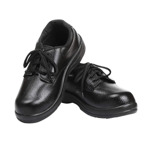 Safety Shoes Black Polo (For Labour)
