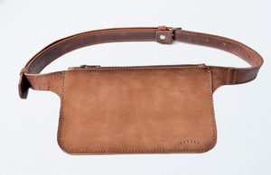 "The ""Baila"" Belt Bag // TOBACCO RED"