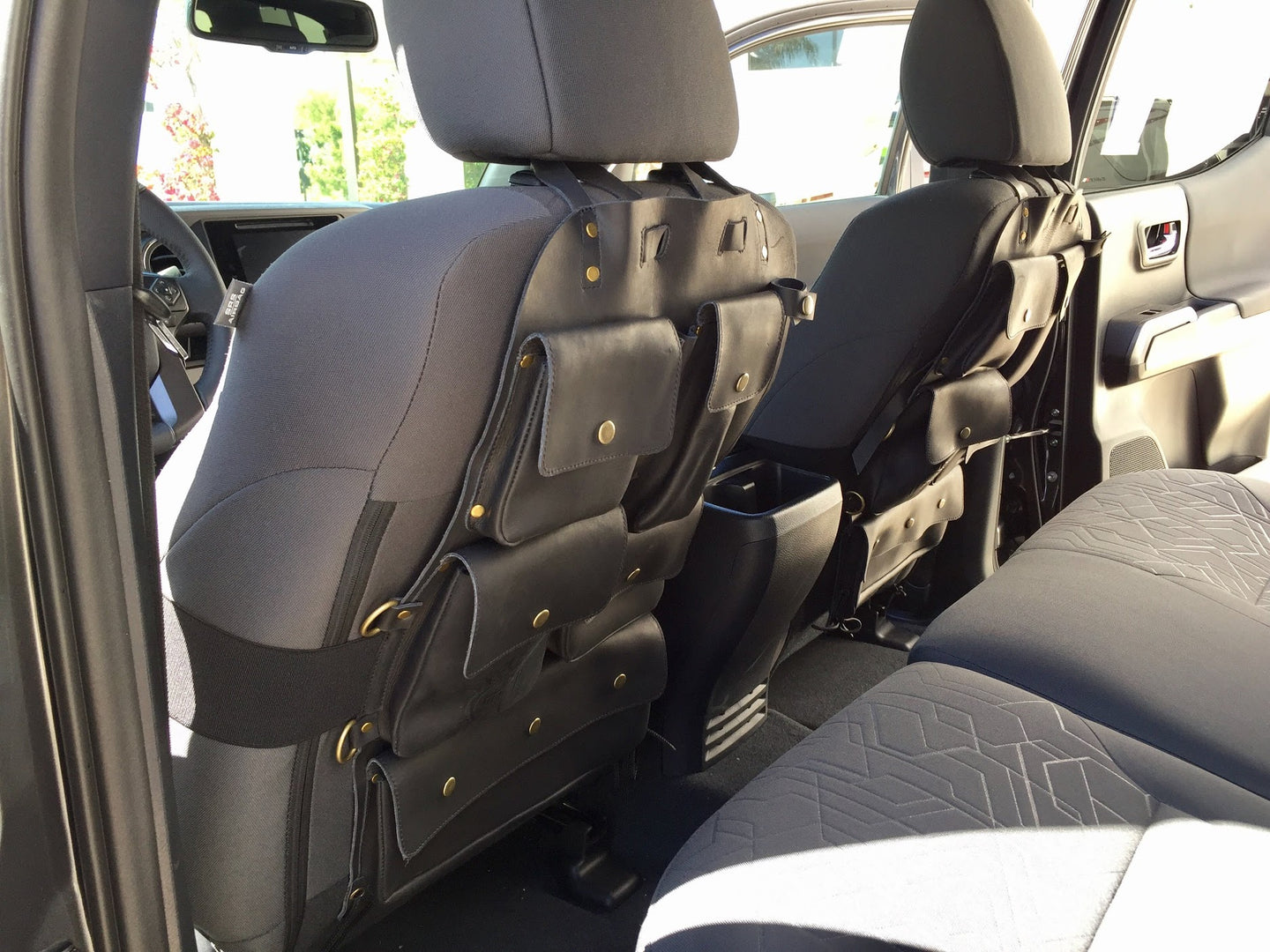 Pair of Universal Seat Back Organizers