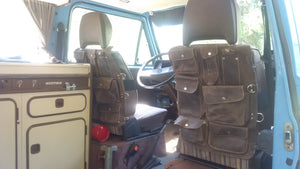 Pair of VW VANAGON Seat Back Organizers
