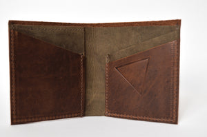 "The ""Clásico"" Bi-Fold Wallet // BROWN & TOBACCO"