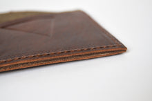 "Load image into Gallery viewer, The ""Clásico"" Bi-Fold Wallet // BROWN & TOBACCO"