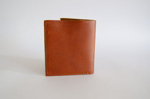 "The ""Clásico"" Bi-Fold Wallet // BURNED ORANGE & GREEN"