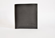"Load image into Gallery viewer, The ""Clásico"" Bi-Fold Wallet // BLACK"
