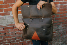 "Load image into Gallery viewer, The ""Mensajero"" Satchel"