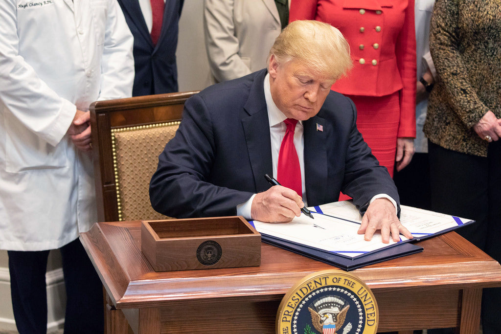 Trump Signs Historic Drug Price Bills | Media Silent