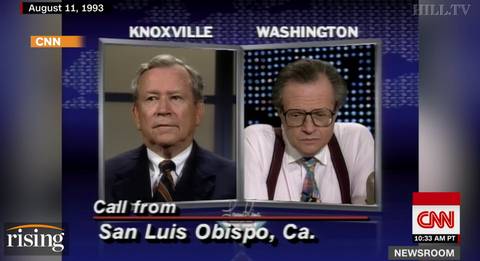 "Larry King 1993 ""Washington: The Cruelest City on Earth?"""