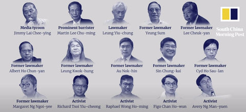 Pro-democracy leaders arrested in Hong Kong