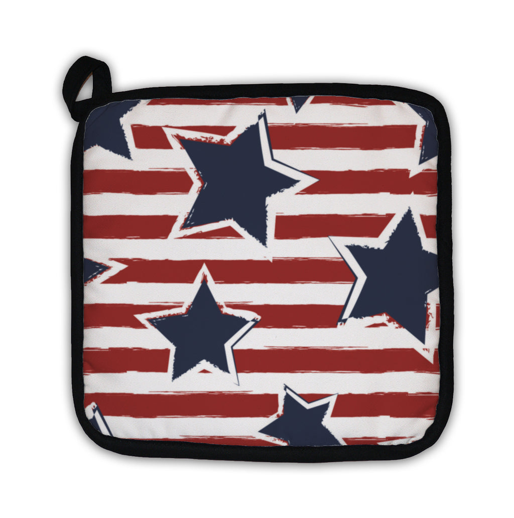 Patriotic Potholder - USA themed