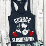 George Sloshington Womens Tank Top