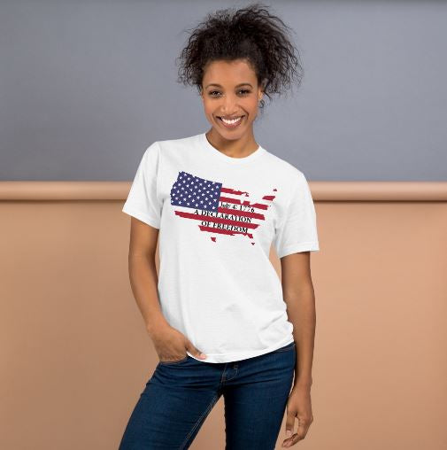 July 4th 1776 A Declaration Of Freedom - T-Shirt