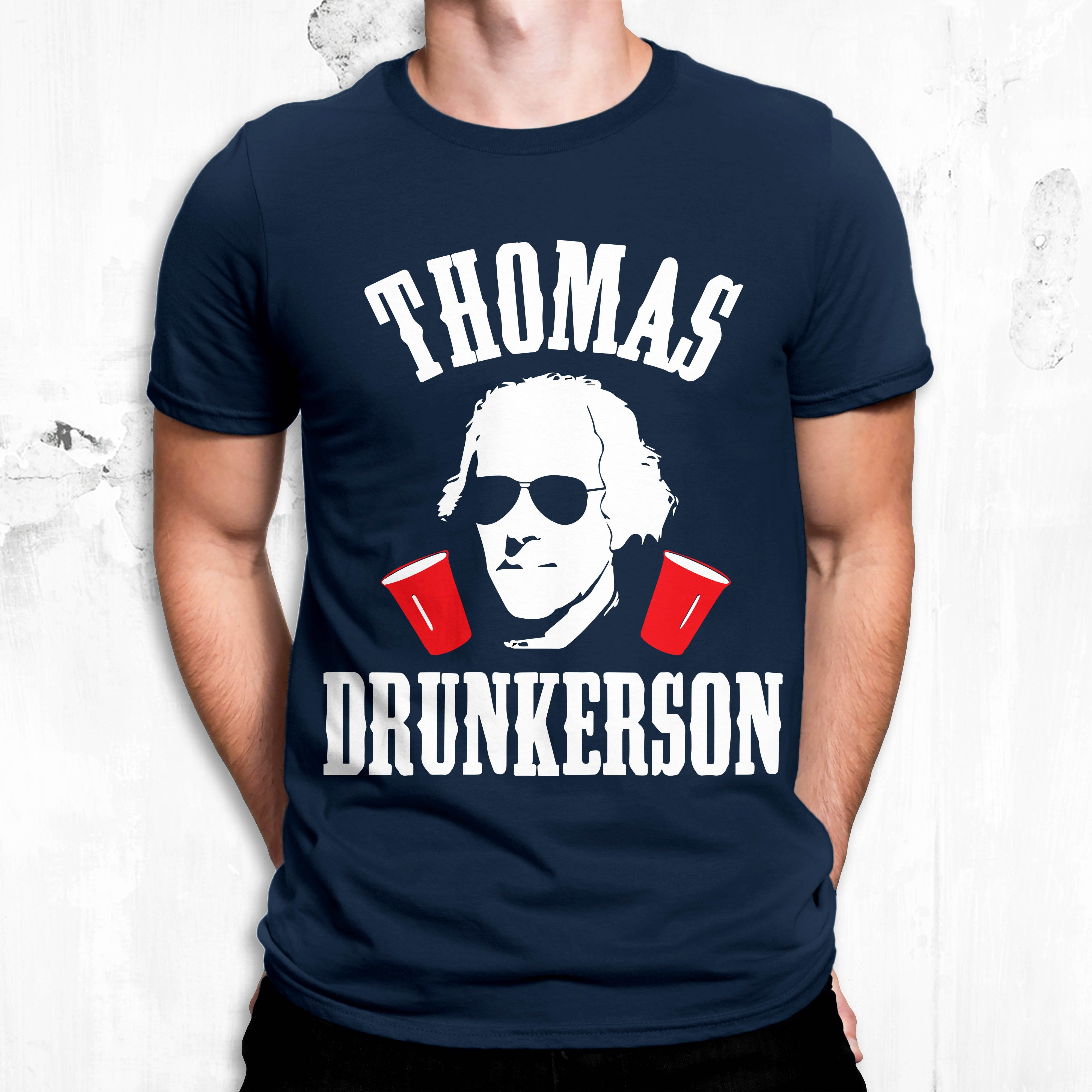 Thomas Drunkerson shirt