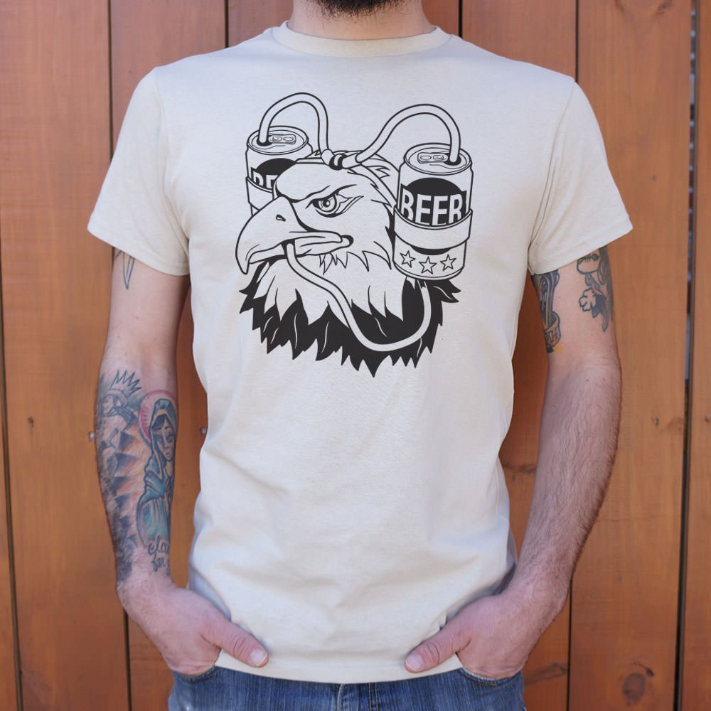 Bald Eagle (Drinking Beer) Shirt