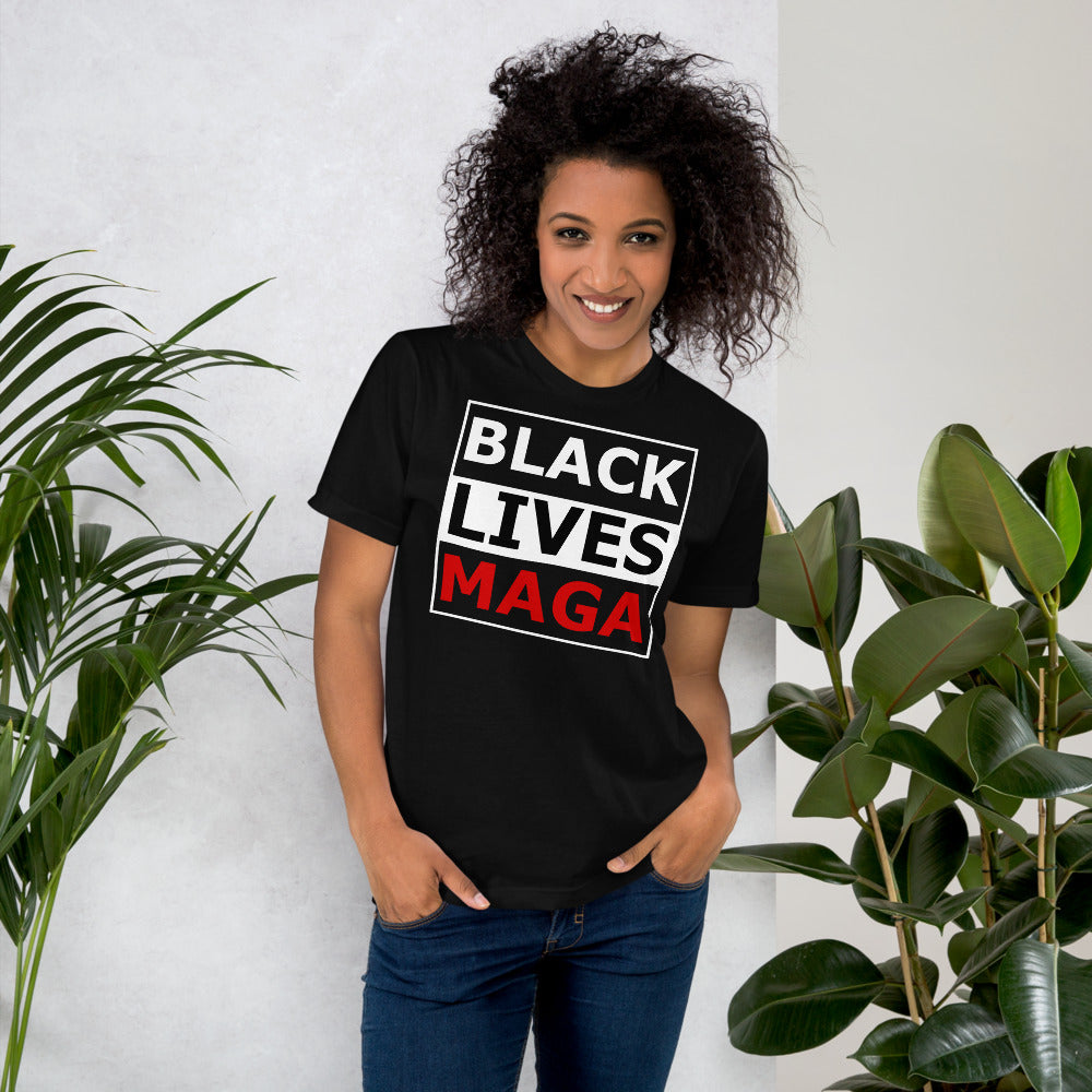 Black Lives MAGA shirt