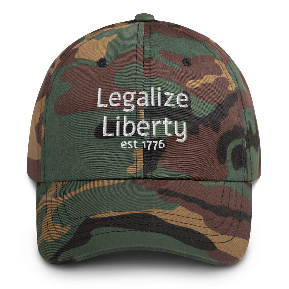 Legalize Liberty camo Hat