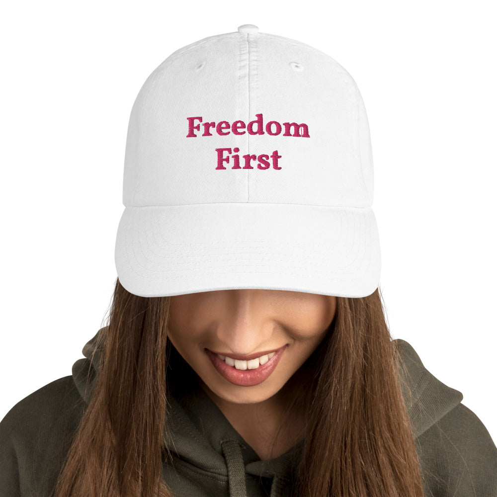 """FreedomFirst"" - Champion Hat"