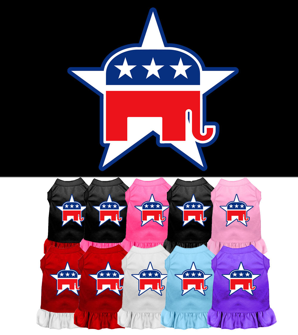 Republican Dog Dress Outfits