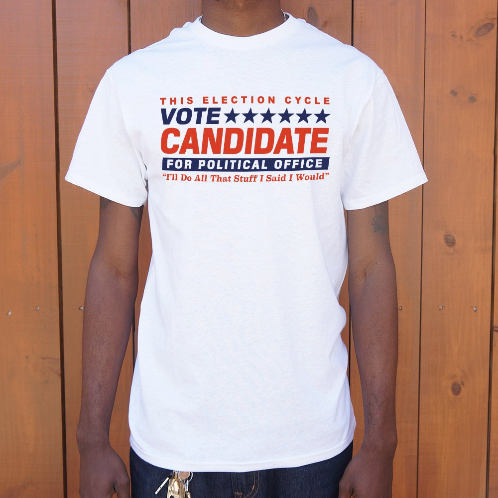 white Funny Election Shirt
