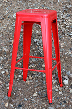 Load image into Gallery viewer, 2 x Barstool red