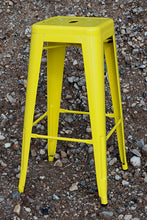 Load image into Gallery viewer, 2 x Barstool yellow