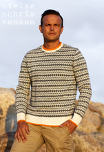 Load image into Gallery viewer, Knit XO men Ivory